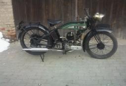 Renovace BSA 1927
